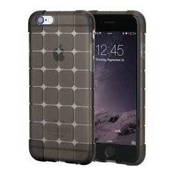 Rock iPhone 6 Plus/6S Plus Cubee Series hátlap, tok, átlátszó-fekete