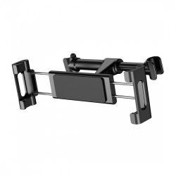BASEUS SUHZ-01 univerzális autós telefon és tablet tartó fejtámlára, fekete