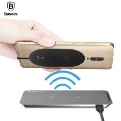 Baseus Qi vezeték nélküli töltő receiver univerzális, micro-USB csatlakozással, fekete