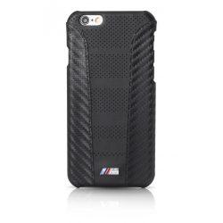 BMW iPhone 6/6S M Sport Carbon Inspiration PU Carbon hátlap, tok, fekete