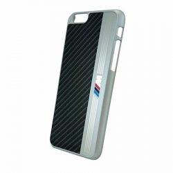 BMW iPhone 6 M Aluminium Stripe hátlap, tok, fekete