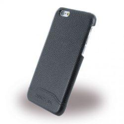 Cerruti 1881 iPhone 6/6S Signature Hard Grained Genuine Leather bőr hátlap, tok, fekete
