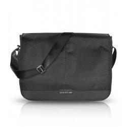 "Cerruti Genuine Leather univerzális utazó táska 13"", fekete"