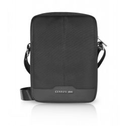 "Cerruti Nylon Genuine Leather univerzális utazó táska 9""-10"" fekete"