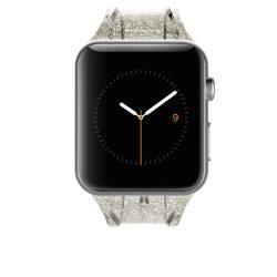 Case-Mate Apple Watch Strap Sheer Glam 38mm óraszíj, átlátszó-arany