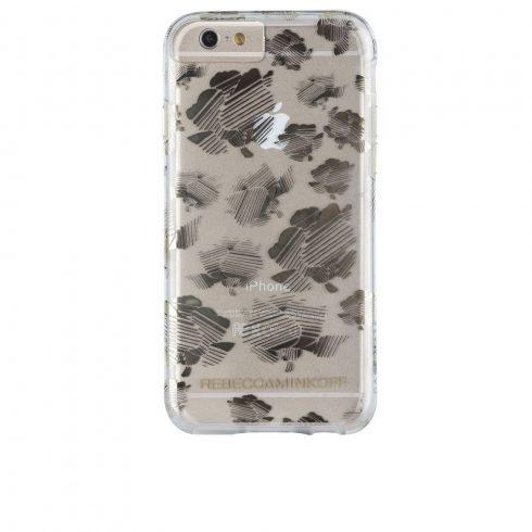 Case-Mate iPhone 6/6S Rebecca Minkoff Tough hátlap, tok, átlátszó-virágmintás
