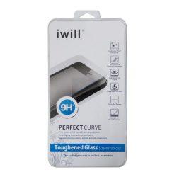 Iwill HTC M8 edzett üvegfólia (tempered glass) 9H keménységű (nem teljes kijelzős 2D sík üvegfólia)
