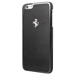 Ferrari iPhone 6 Plus/6S Plus GT Carbon Hard hátlap, tok, fekete
