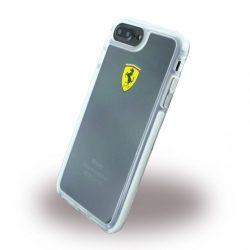 Ferrari iPhone 7 Plus SHOCKPROOF Hard Racing Shield hátlap, tok, átlátszó