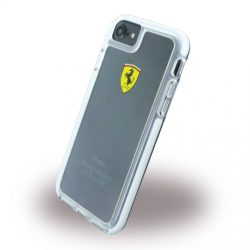 Ferrari iPhone 7 SHOCKPROOF Hard Racing Shield hátlap, tok, átlátszó
