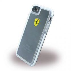 Ferrari iPhone 7 SHOCKPROOF Hard Racing Shield hátlap, tok, átlátszó
