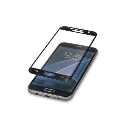 Forever iPhone 5/5S/SE 2.5D teljes kijelzős edzett üvegfólia (tempered glass), 9H keménységű, fehér
