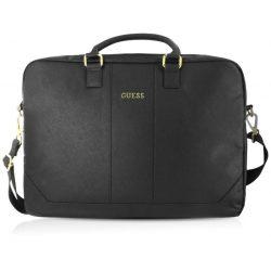 Guess Saffiano Look Computer Bag 15'' lap-top tartó, fekete