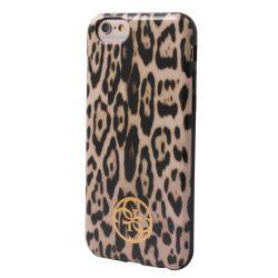 Guess iPhone 6/6S Animalier Print hátlap, tok, leopárd mintás