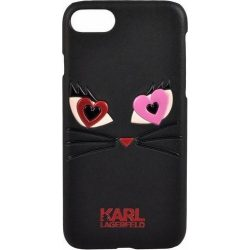 Karl Lagerfeld iPhone 6/6S Choupette In Love 2 hátlap, tok, fekete