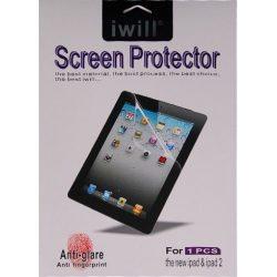 Iwill iPad Mini 1/2/3/4 ujjlenyomatmentes 4 rétegű kijelzővédő fólia