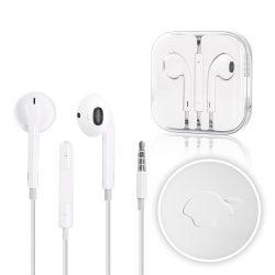 Apple gyári vezetékes headset, fülhallgató  MD827ZM/A, fehér