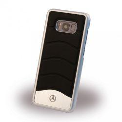 Mercedes Benz Samsung Galaxy S8 Plus Wave III Aluminium Hard hátlap, tok, fekete