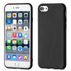 iPhone 7/8 szilikon tok, fekete