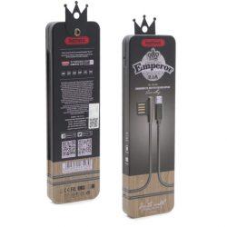 Remax Emperor Micro USB töltőkábel, fekete