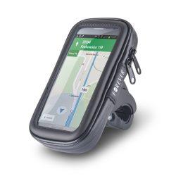 Forever univerzális biciklis telefon táska, méret: L, fekete