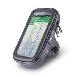 Forever univerzális biciklis telefon táska, méret: XL, fekete