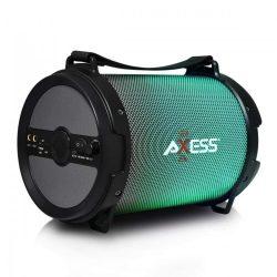 Zizo Axess Bluetooth 2.1 Speaker, hordozható bluetooth hangszóró, Subwoofer, Sd kártya, usb, aux-in, fekete