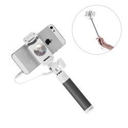 Proda mini vezetékes Selfie Stick, szelfi bot, fekete