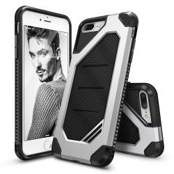 Ringke Max Armor iPhone 7 Plus/8 Plus Heavy Duty Rugged hátlap, tok, ezüst
