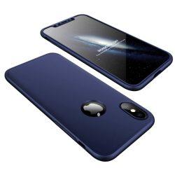 Full Body Case 360 iPhone X/Xs, elő-hátlap tok, kék