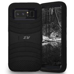 Zizo Ucase Samsung Galaxy Note 8 (2017) hátlap, tok, fekete