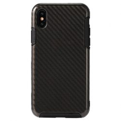 REMAX Serui Carbon Flexible iPhone X/Xs hátlap, tok, fekete