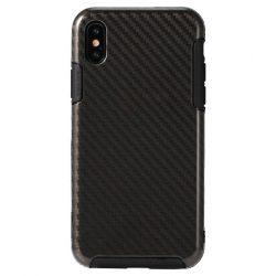 REMAX Serui Carbon Flexible iPhone X/Xs hátlap, tok, fekete