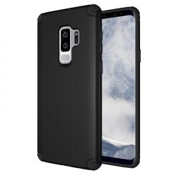Light Armor Rugged Samsung Galaxy S9 Plus hátlap, tok, fekete