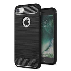 Back Case Carbon iPhone 7 hátlap, tok, fekete
